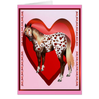 Appy Valentine's-Big hearted Greeting Card