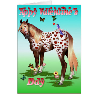 'Appy Valentine's Day - b Greeting Card