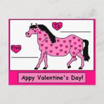 Appy Valentine's Day! Postcard