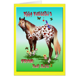 'Appy Valentine's Greeting Card