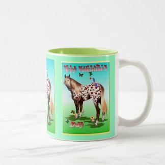 'Appy Valentine's Two-Tone Coffee Mug