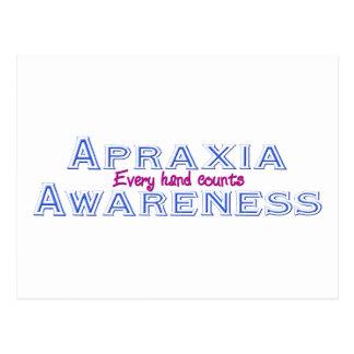 Apraxia Awareness Postcard