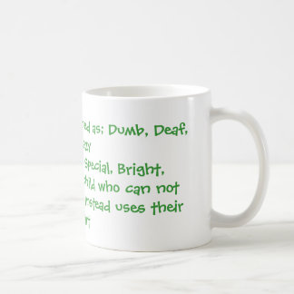 Apraxia defined coffee mug