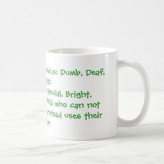 Apraxia defined coffee mugs