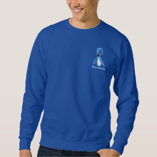 Apraxia Lighthouse of Hope with Blue Ribbon Sweatshirt