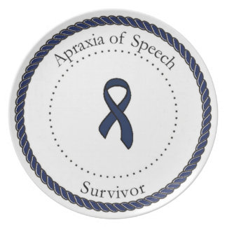 Apraxia of Speech Survivor Plate