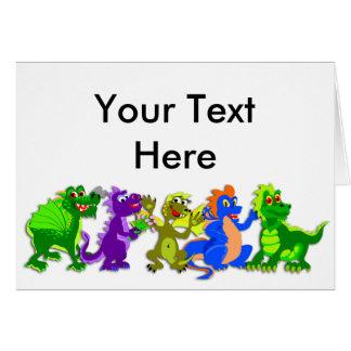 Aprecie dragón día el 16 de enero tarjeta de felicitación