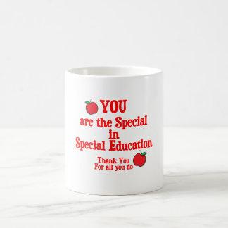 Aprecio de la educación especial taza