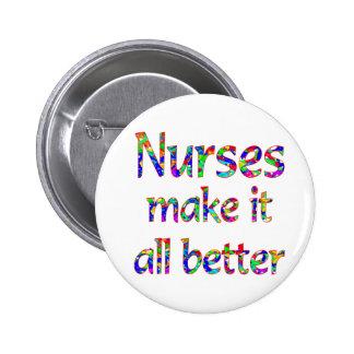 Aprecio de la enfermera pin