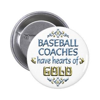 Aprecio del entrenador de béisbol pins