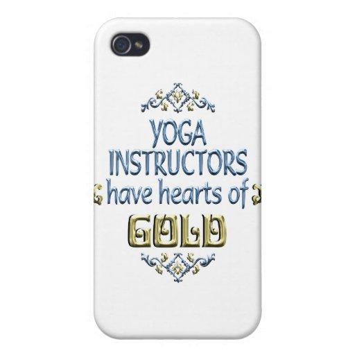 Aprecio del instructor de la yoga iPhone 4 protector