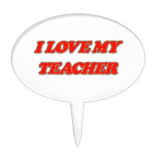Aprecio del profesor (amor de I mi profesor) Figuras Para Tartas