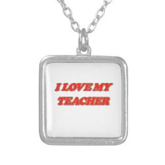Aprecio del profesor (amor de I mi profesor) Colgante Personalizado