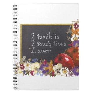 Aprecio del profesor notebook