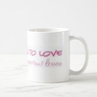 Aprenda amar <3 taza de café