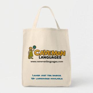 Aprenda apenas el basics.12+ idiomas bolsa de mano