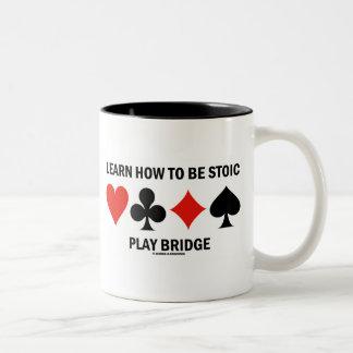 Aprenda cómo ser puente estoico del juego (los jue taza de café
