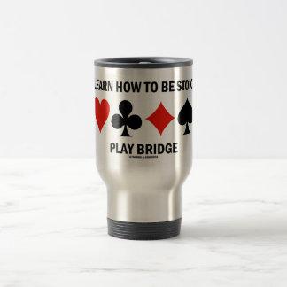 Aprenda cómo ser puente estoico del juego (los jue taza