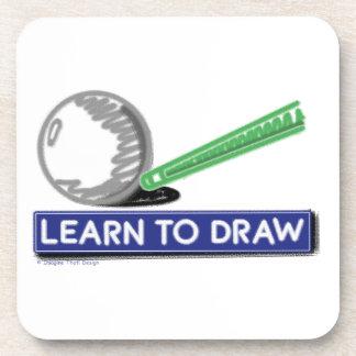 Aprenda dibujar posavasos de bebidas