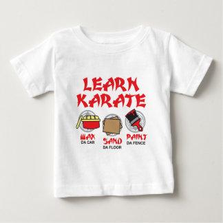 Aprenda el karate playera