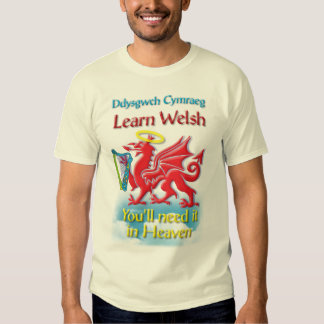 Aprenda la camiseta Galés Polera