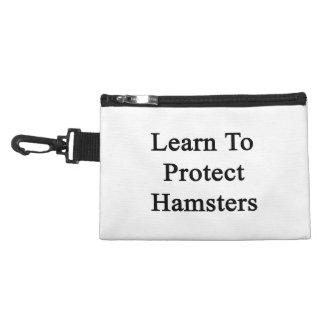 Aprenda proteger hámsteres