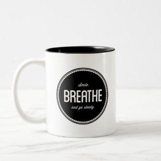 Aprenda relajar la taza inspirada