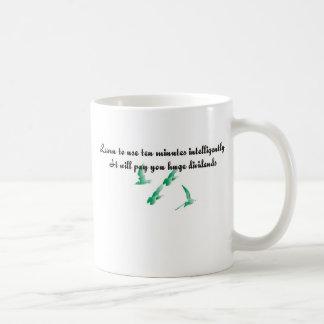 Aprenda utilizar diez minutos inteligente tazas de café
