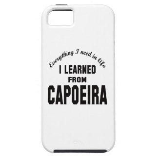 Aprendí de Capoeira. iPhone 5 Carcasas