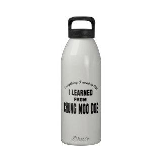 Aprendí de gama del MOO de Chungkin Botella De Beber
