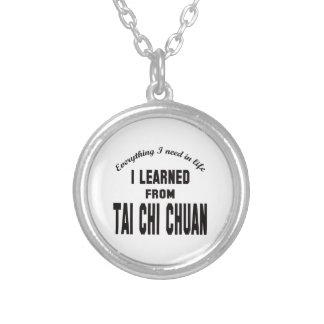 Aprendí de la ji Chuan. del Tai Collar Personalizado
