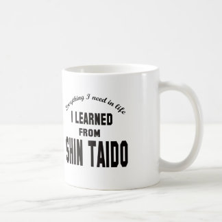 Aprendí de Shin Taido Taza De Café