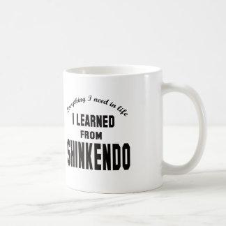 Aprendí de Shinkendo Tazas