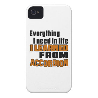 Aprendí del acordeón Case-Mate iPhone 4 funda