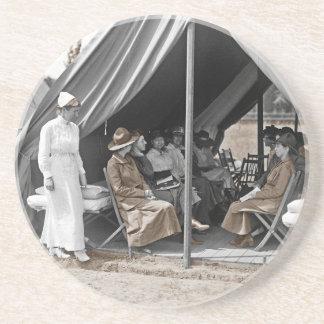 Aprendices de la enfermera de WWI Posavasos Para Bebidas