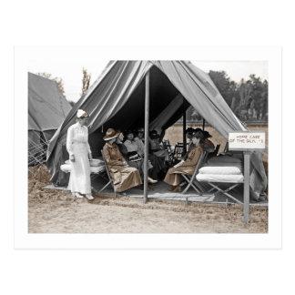 Aprendices de la enfermera de WWI Tarjeta Postal