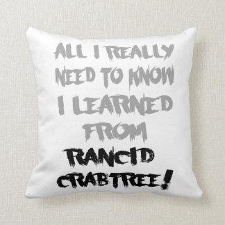 Aprendido de la almohada rancia de Crabtree