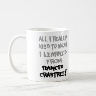 Aprendido de la taza rancia de Crabtree