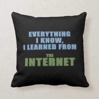 Aprendido del Internet Almohada