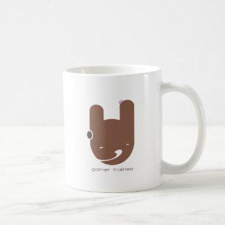 Aprendiz del videojugador taza de café