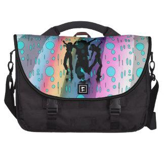 Aprendizaje bailar en la lluvia bolsas para ordenador