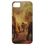 Aprendizaje de los elefantes iPhone 5 carcasa