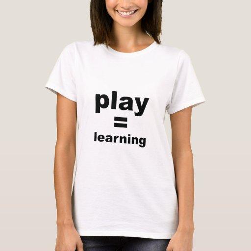 Aprendizaje de los iguales del juego playera