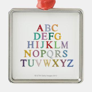 aprendizaje, letras, alfabeto ornamento de reyes magos