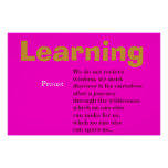 Aprendizaje Poster