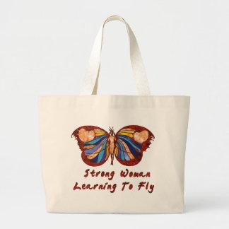Aprendizaje volar bolsa tela grande