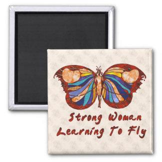 Aprendizaje volar imán cuadrado
