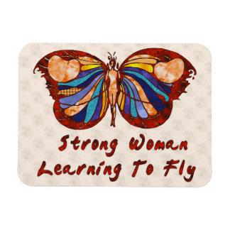Aprendizaje volar imán de vinilo