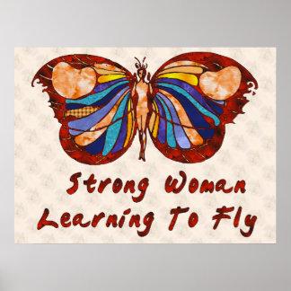 Aprendizaje volar poster