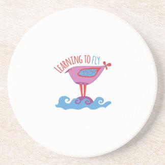 Aprendizaje volar posavaso para bebida